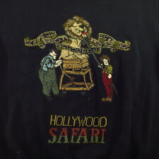 VINTAGE ICEBERG HOLLYWOOD SAFARI EMBROIDERED MADE IN ITALY SWEATER SHIRT Sz XL
