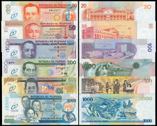 "2009 60th Year Central Banking in Philippines 20-100 Pesos Set Banknote ""805"""