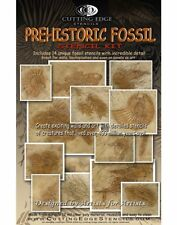 Prehistoric Fossil Stencil Kit - DIY Dimensional Wall Decor Stencils