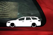 2x LOW Ford Mondeo mk4 estate wagon / Turnier TDCi, car outline stickers