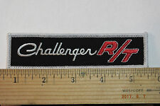 """Challenger R/T Iron-on Embroidered Patch 5"""""""