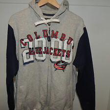 NHL G-III Sports by Carl Banks Columbus Blue Jackets Hooded Sweatshirt Mens 2XL