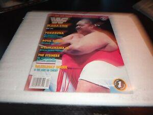 WWF wwe Magazine april 1993 yokozuma royal rumble the steiners wrestlemania 9