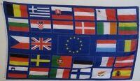 Fahne Flaggen EUROPA 28 LÄNDER 150x90cm TDShop24