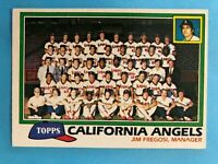 1981Topps Baseball - California Angels Team Set (31 cards)   Carew/Baylor/Tanana