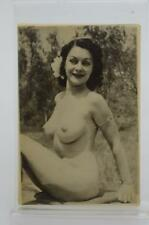 Vintage Lady Burlesque Pin-up Lingerie Nude Pocket Mirror {PA1}