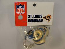 NFL St Louis Rams Foamhead 4 in 1 Antenna Topper Keychain