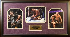 Anderson Silva Signed 8 x 10 in Photo collage w/JSA
