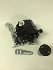 "New Willys Jeep Alternator One 1 Wire Black 12V 65A, 5/8"" Pulley, Bracket, Coil"