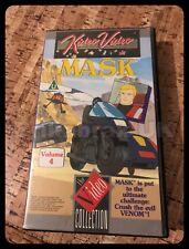 M.A.S.K Volume 4 VHS Video Cassette Tape PAL Region - Vintage Used