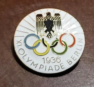German 1936 Olympics pin badge
