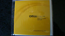 Microsoft Office 2008 Home and Student Edition for Mac New Disk Only