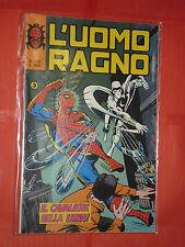 UOMO RAGNO spiderman -N° 273  -prima SERIE 1°- DEL 1977 -CORNO- usato NO PANINI