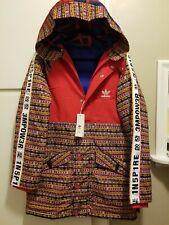 Adidas Pharrell Williams HU Padded Winter Coat Parka EA2471 Men's X-Large NWT