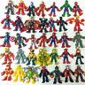 "2.5"" Playskool Marvel Super Hero Adventures Iron SPIDER MAN Loki Vision ULTRON"