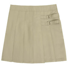 Toddler Khaki Skort Two Tab Scooter French Toast School Uniform Sizes 2T to 4T