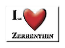 ZERRENTHIN (MV) MAGNET ICH LIEBE  DEUTSCHLAND SOUVENIR MECKLENBURG VORPOMMERN -1