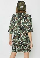 adidas Originals Women's Camo Print T-shirt Dress