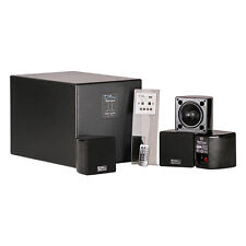 "Ohm Bootique HIFI System 10"" Subwoofer & Satellite Speakers Active Sound System"