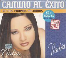 Nadia Camino Al Exito En Mis Propias Palabras  CD New Nuevo sealed