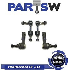 4 Pc Suspension Kit for Ford F-150 2004 2005 RWD Outer Tie Rod Ends / Sway Bars