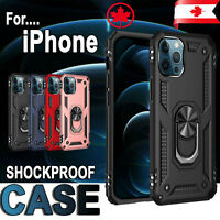 Magnetic Case For iPhone 12 Mini / 12 Pro / 12 Max Shockproof Hard Ring Cover