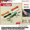 10 Keys KeySmart Compact Key Holder Organiser Pocket Size Ring Aluminium Hold AH