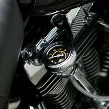 Arlen Ness Chrome Radius Oil Pressure Gauge Kit for 99-15 Harley TC  15-658