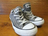 Converse CT All Star UK 4 EU 36.5 Grey Canvas Casual Trainers