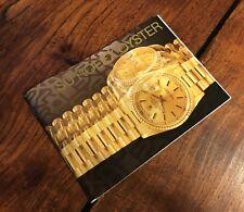 Librillo Su Rolex Oyster Español 1999