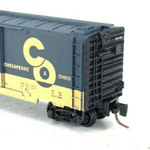Z Scale Micro-trains Chesapeake & Ohio 40' Box Car Single Door RD#12505 IC033