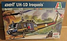 ITALERI BELL UH-1D IROQUOIS HELICOPTER 1:72 SCALE PLASTIC MODEL KIT AIRCRAFT