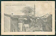 Verona Monteforte d'Alpone cartolina QT4546