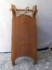 Wooden Sled Door Holiday Decoration