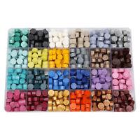 Sealing Wax Pills Grain Vintage Wax Seal Stamp Tablet Beads for Envelope L&6