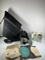 Vintage Bell & Howell 8MM Auto-load Animation Zoom Reflex Movie Camera Untested