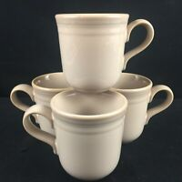 Lot of 4 Vintage Coffee Mugs by Noritake Stoneware Sunset Mesa 8663 Japan B