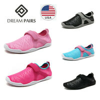 DREAM PAIRS Women Water Shoes Aqua Shoes Surf Swim Shoes Sports Quick Dry