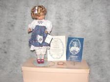 Artist Dianna Effner Knowles Goldilocks Fairy Tale Porcelain Doll ~ Limitied '90