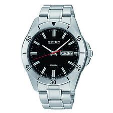 sqnp sgga75p1 SEIKO hommes affichage date acier inoxydable bracelet montre