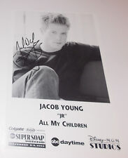 Jacob Young Autograph Reprint Photo 9x6 All My Children 2003 Bold Beautiful GH