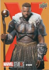 Marvel The First Ten (10) Years, Roman Numerals X M'Baku Chase Card RN83
