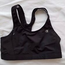 Champion White & Black Wire Free Racer back Sports Bra Top 9303 Women's Size S