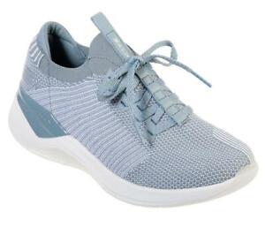 SKECHERS SKLX Modena Blue Shoes Runners Memory Foam SIZE US 6 UK 3 EUR 36 womens