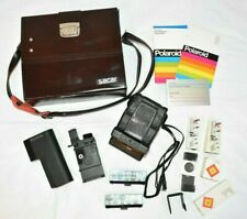 Polaroid SX-70 SE Land Camera Sonar Onestep Polatronic Flash Case Manuals +More