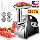 Electric Meat Food Grinder 2800W Sausage Stuffer Mincer Grinding Mincing Machine photo