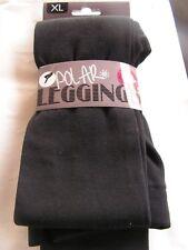LEGGINGS  POLAR/  POLAIRE   NOIR TAILLE XL NEUF