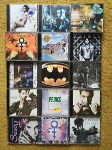 18 Stück Prince CD Sammlung