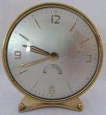 Mid Century Design-Laiton Horloge Coultre mécaniques en écriture Coultre ~ 60er