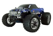REDCAT RACING VOLCANO S30 1/10 SCALE NITRO MONSTER TRUCK 4X4 RC CAR 2.4GHz BLUE
